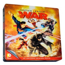Justice League War Steelbook Liga De La Justica: Guerra Bd