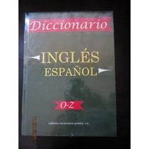 Diccionario Inglés-español 3 Tomos Grandes Nuevos Pasta Dura