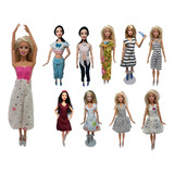 25 Conjuntos De Ropita De Barbie + 25 Zapatitos