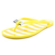 Coach Landon Jelly Flip Flop Zapatos De Las Sandalias
