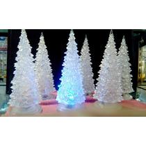 Arbol De Navidad Acrilico Resistente Con Luces