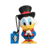 Memoria Usb 8 Gb Tio Rico Mac Pato Disney Tribe
