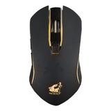 Mouse De Juego Free Wolf X9 Negro