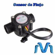 Sensor De Flujo De Agua Yf-s201 (efecto Hall), Arduino, Pic