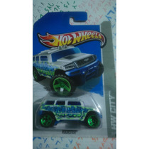 Hot Wheels Rockster Edition 2013 Hw Ity Camioneta Tpo Hummer