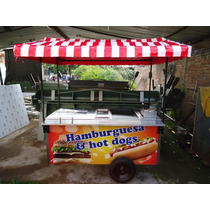 Carritos Hamburguesas Hot Dog Carros Hotdog Carrito Carreta