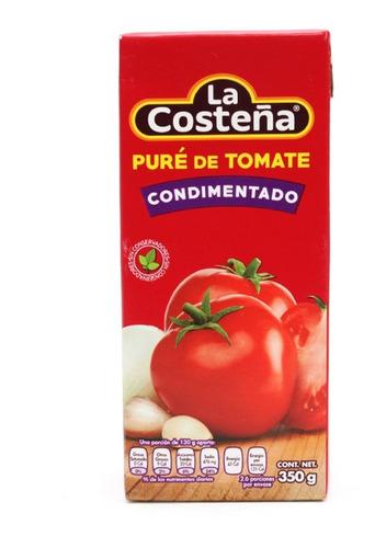 La Costeña Puré De Tomate Brick 350 Gr