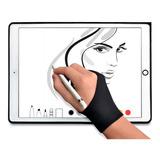 Guante 2 Dedos Tableta De Dibujo Digital Protección Papel F