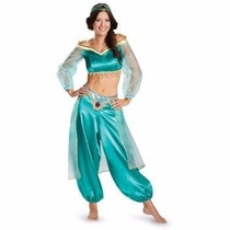 Disfraz De Jasmine Aladino Para Damas, Envio Gratis