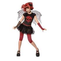 Disfraz Gothic Doll Sexy, Angel Negro, Comics, Halloween