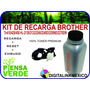 Kit Toner Brother Y Engrane Resetador Tn410/420/450