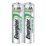 Pila Recargable Aa Energizer Original De 2,300 Mah 2 Piezas