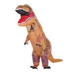 Decdeal Divertido Adulto Inflable Dinosaurio Trex Traje Traj