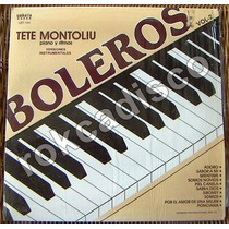 Jazz Inter. Tete Montoliu. Piano.hecho En México Lp12´, Sp0