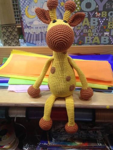 Jirafa amigurumi de crochet - Verkauft durch Direktverkauf - 150499890 | 500x375