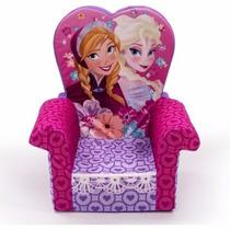 Silla Sillon Infantil Con Respaldo Disney Frozen