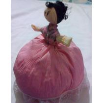 Muñeca De Hoja De Maíz Para Recuerdo 25 Cm. Manualidad