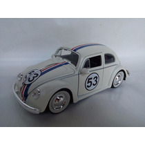 Vw Sedan Herbie Custom 1967 Esc:1/24 Kinsmart Coleccion Jada