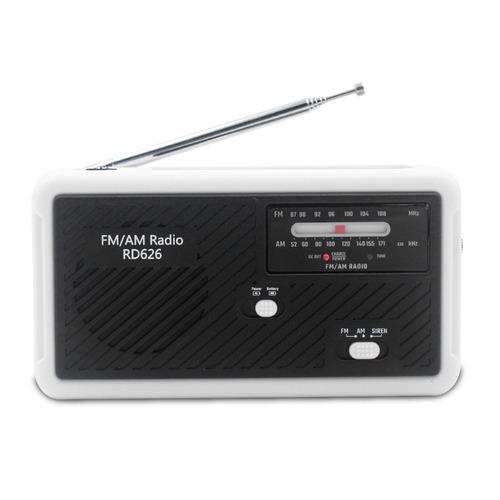 Rd626 Fm Am Banda Dual Radio Digital Banco De Energa 1000