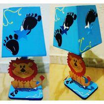 Lamparas Infantiles Centros De Mesa De Mickey Mouse Fiestas