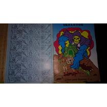 Remate ! He-man Y Los Amos Del Universo Libro Para Iluminar