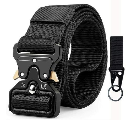 Cinturón Táctico Militar Correa De Cintura 125cm Para Unisex