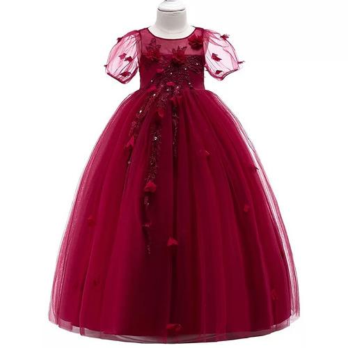 Vestido de fiesta color vino mercadolibre