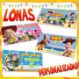 Lona Toystory Woody, Jessie, Buzz Personalizada Envío Gratis