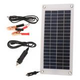 Cargador Solar Para Batería De Automóvil 8.5w/12v