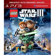 Lego Star Wars Iii The Clone Wars Ps3 Nuevo Sellado Original