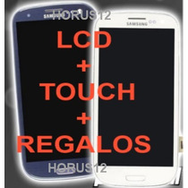 Pantalla Original Display Lcd Touch Screen Samsung S3 I9300