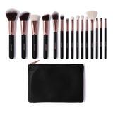 Set De 15 Brochas De Maquillaje Docolor Dc1501