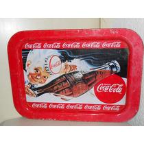 Letrero Coca Cola Antigua Charola