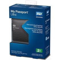 Disco Duro Externo Portatil Wd My Passport Ultra 2tb Usb 3.0