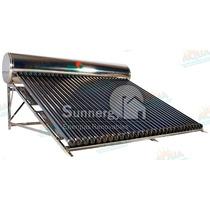 Calentador Solar 345 Litros. Acero Inoxidable. 30 Tubos