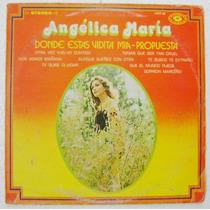 Angélica María Con El Mariachi México 1 Disco Lp Vinil