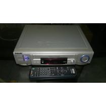 Sony Vhs Power Trilogy 4 Head Mod.slv-l52 Con Control Remoto
