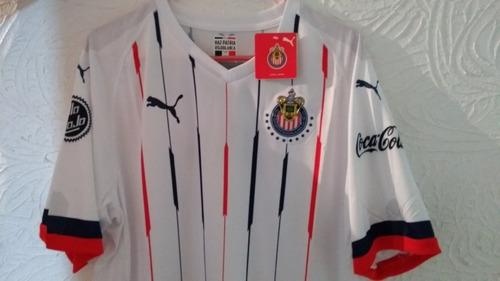 Jersey Puma   Playera Chivas Visitante 2018 - 2019 Nueva.   549 bf670900560cd