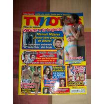 Revista Tv Notas Portada Mijares Poster Katia Ex Garibaldi