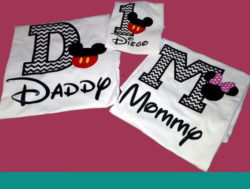 Playeras Y Pañaleros Personalizadas Mickey Mouse 280038dab40d4