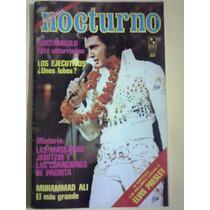 Revista Nocturno Elvis Presley 1977