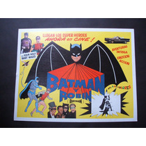 Batman Y Robin Adam West Lobby Card Cartel Poster A