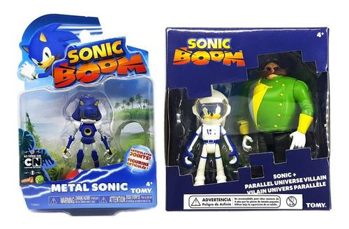 Figuras Sonic Boom Sonic Vs Dr. Eggman