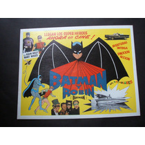 Batman Y Robin Adam West Lobby Card Cartel Poster H