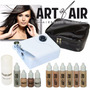 Sistema De Maquillaje Aerografo Set Completo Maquillar Art