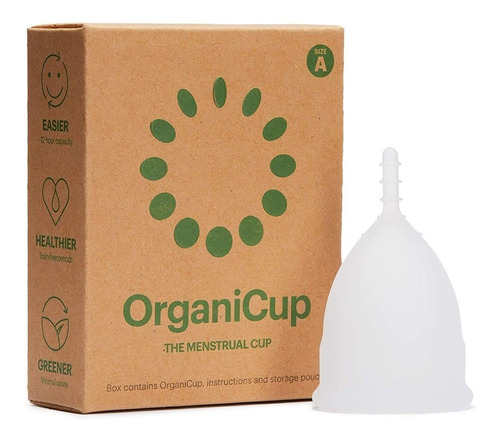 Copa Menstrual Organicup Certificada Fda
