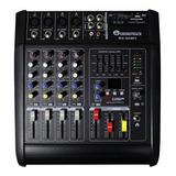 Mezcladora Consola Soundtrack De 4 Canales 150 Watts