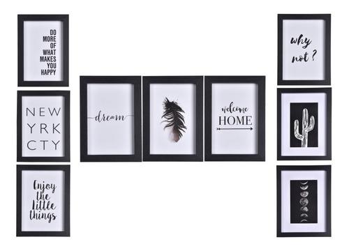 Cuadros Modernos Decorativos Set X 9 Begônia