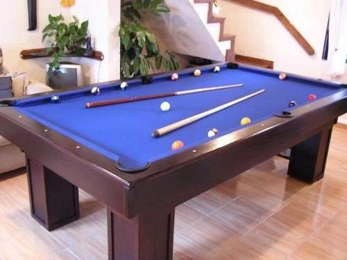 Construye tu propia mesa de billar pool barata libro 87 for Mesa billar barata