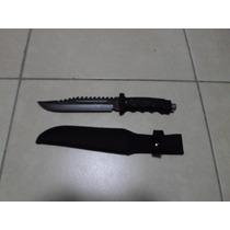 Cuchillo Monte Tipo Militar Tipo Rambo